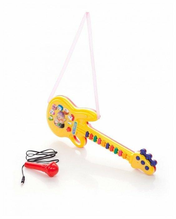 Играем вместе гитара микрофон, 10 мелодий B558829-R2