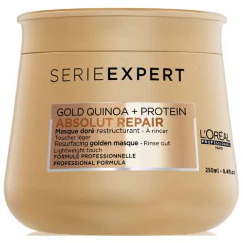 L'Oreal Professionnel Absolut Repair Маска с золотой текстурой для восстановления поврежденных волос, 250 мл l oreal professionnel absolut repair