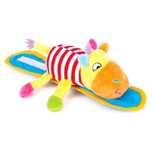Купить Подвесная игрушка Happy Snail Жираф Спот (14HSK07SP) желтый/голубой, Подвески