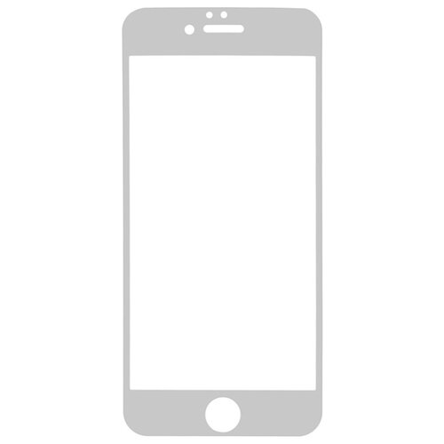 Защитное стекло Gosso FULL SCREEN для Apple iPhone 6/6s белый защитное стекло caseguru для apple iphone 6 6s silver logo