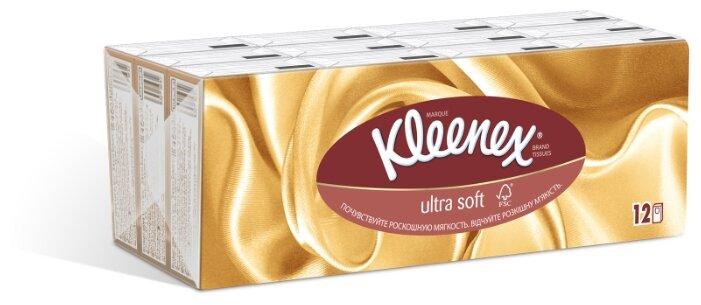 Платочки Kleenex Ultra soft 20 х 20 см