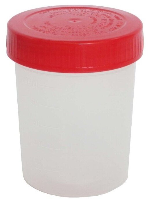 Альпина Пласт Контейнер для биопроб (стерильный) 100 мл