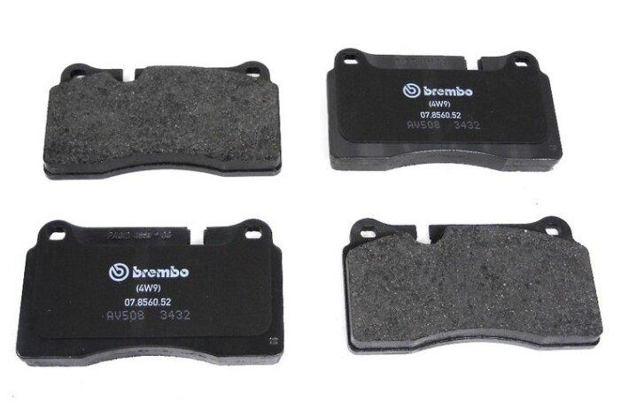 Дисковые тормозные колодки передние VOLKSWAGEN 7L6698151E/J для Volkswagen Touareg (4 шт.)
