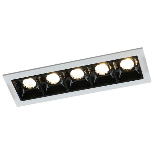 Встраиваемый светильник Arte Lamp Grill A3153PL-5BK встраиваемый светодиодный светильник artelamp a3153pl 3bk