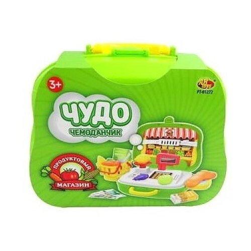 Купить Магазин ABtoys Чудо-чемоданчик на колесиках продуктовый магазин (PT-01272), Играем в магазин