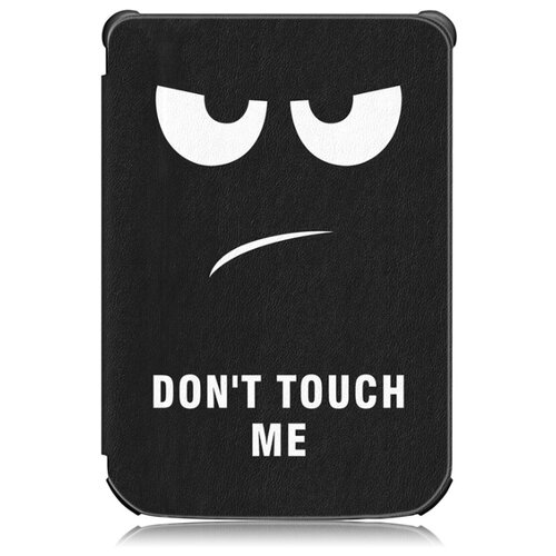Чехол-обложка MyPads для PocketBook 627 / PocketBook 616 / PocketBook 632 с функцией включения-выключения и возможностью быстрого снятия тематика Не трогай меня