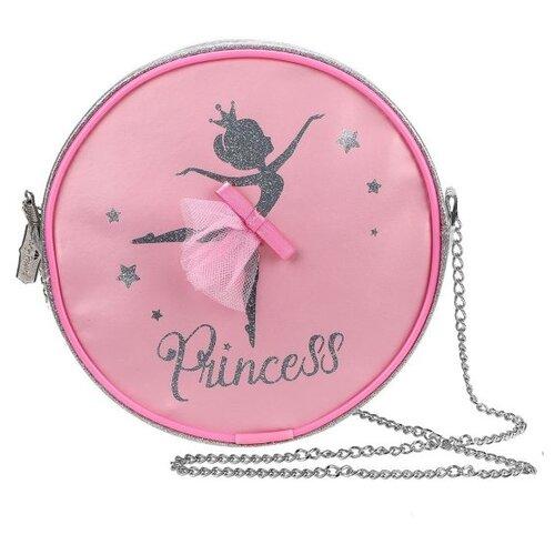 Фото - Сумка таблетка Mary Poppins, металл, розовый/серый сумка бочонок mary poppins зайка 530035 пластик розовый голубой