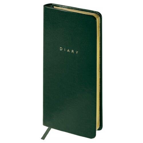 Купить Еженедельник OfficeSpace Windsor полудатированный, искусственная кожа, А6, 64 листов, зеленый, Ежедневники, записные книжки