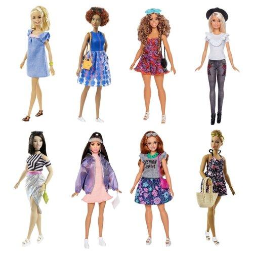Купить Кукла Barbie Игра с модой с дополнительным комплектом одежды, 29 см, FJF67, Куклы и пупсы