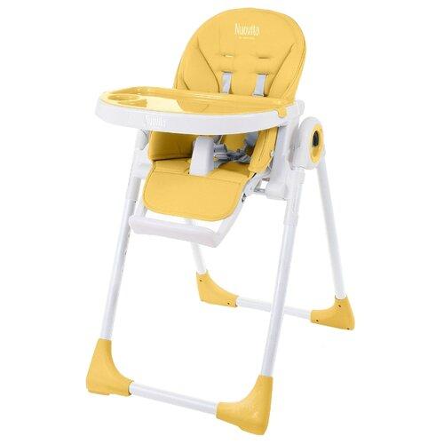 Фото - Стульчик для кормления Nuovita Lembo желтый/белый стульчик для кормления selby bh 431 желтый