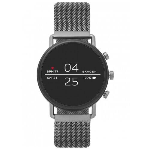 Умные часы SKAGEN Falster 2 (steel-mesh), стальной умные часы huawei watch steel mesh mesh серебряная сталь 42mm