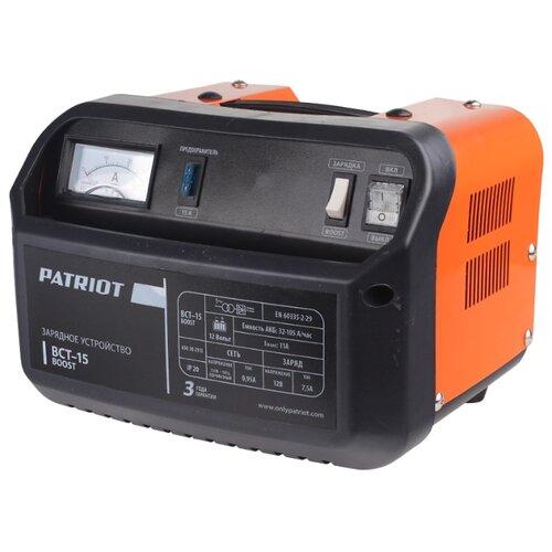 цена на Зарядное устройство PATRIOT BCT-15 Boost черный/оранжевый