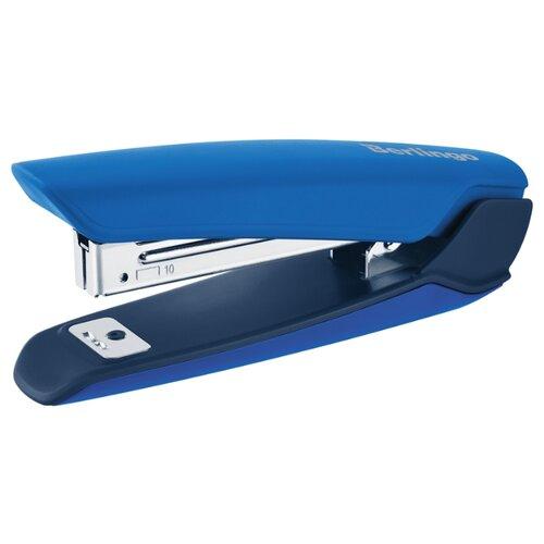 Купить Berlingo Степлер Hyper для скоб №10 синий, Степлеры, скобы, антистеплеры