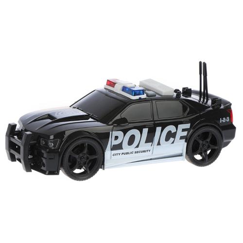 Купить Легковой автомобиль WenYi Полиция (WY500A) 1:20 18 см черный, Машинки и техника