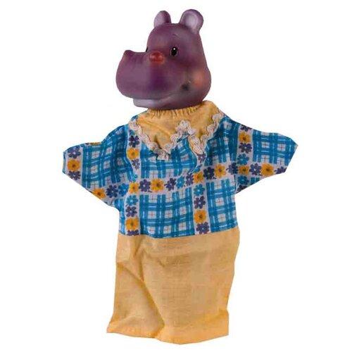 Фото - ОГОНЁК Кукла-перчатка Бегемот (С-1156) кукла огонёк арина с веснушками