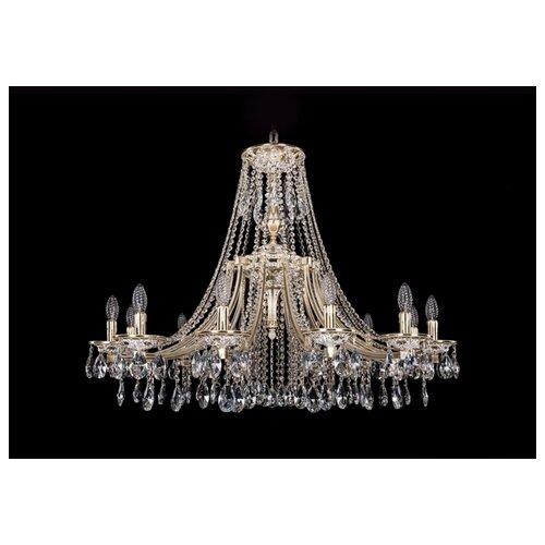 Люстра Bohemia Ivele Crystal 1771 1771/12/340/A/GW, E14, 480 Вт люстра bohemia ivele crystal 1771 12 340a gw