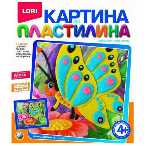 Купить Пластилин LORI Картина из пластилина - Царица цветов (Пк-005), Пластилин и масса для лепки