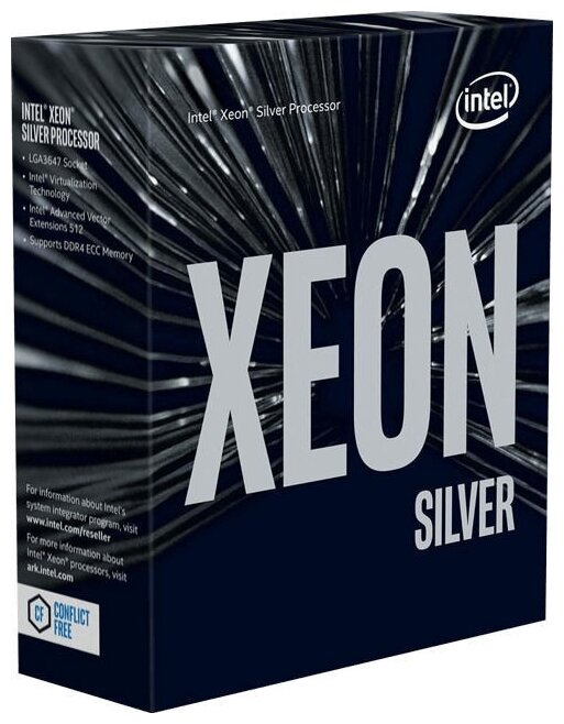 Процессор Intel Xeon 2200/16.5M S3647 OEM SILVER 4214 CD8069504212601 IN