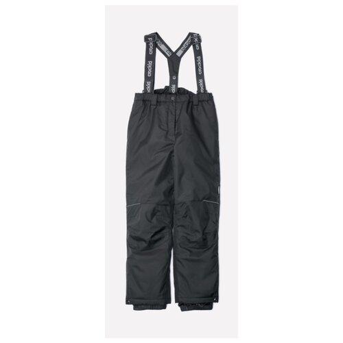 Купить Брюки crockid размер 140-146, 1 черный, Полукомбинезоны и брюки