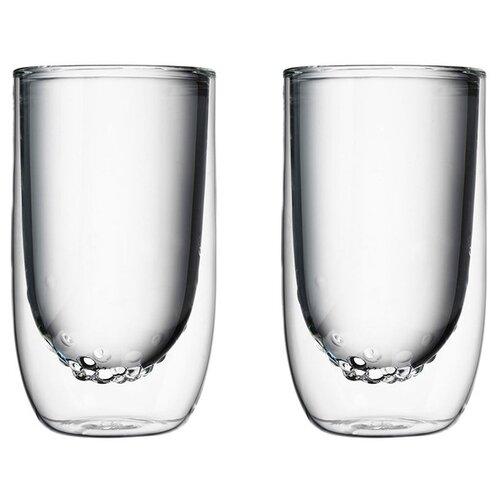 qdo QDO Набор стаканов Elements water 567298 2 шт 350 мл прозрачный