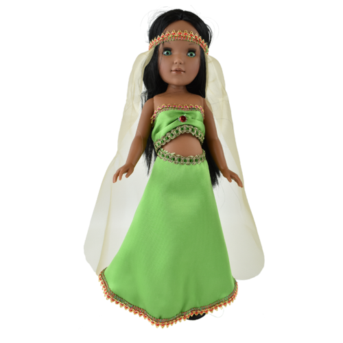 Кукла Vidal Rojas Пепа мулатка в восточном платье (в подарочной коробке), 41 см, 4515 цена 2017