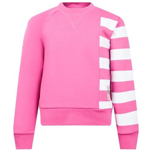 Свитшот N° 21 размер 164, розовый джинсы n°21