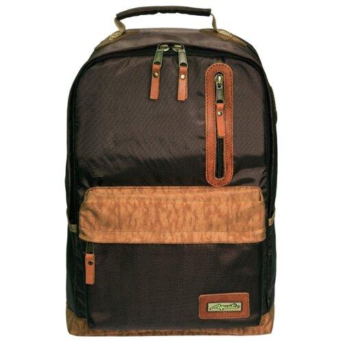 Рюкзак Aquatic Р-26 темно-коричневый/рыжий гермосумка aquatic гc 30