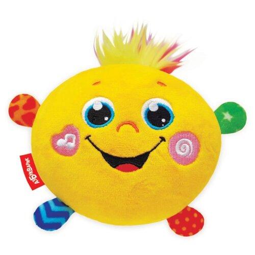 Купить Развивающая игрушка Азбукварик Музыкальный Колобок желтый, Развивающие игрушки