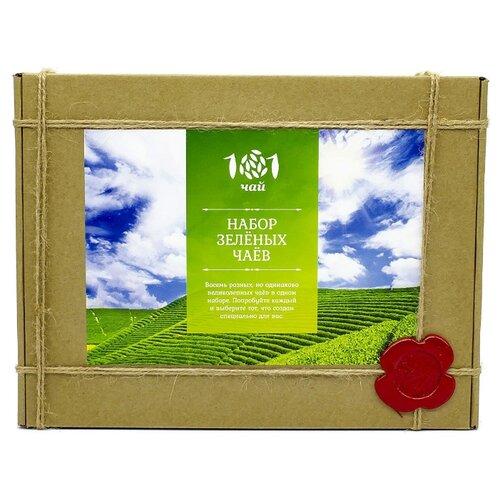Чай зеленый 101 чай Набор зеленых чаев ассорти, 240 г недорого