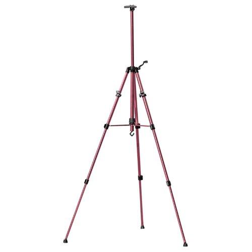 станок мольберт vista artista veb 06 настольный студийный 75 х 28 см Мольберт Vista-Artista тренога (VEA-02) розовый