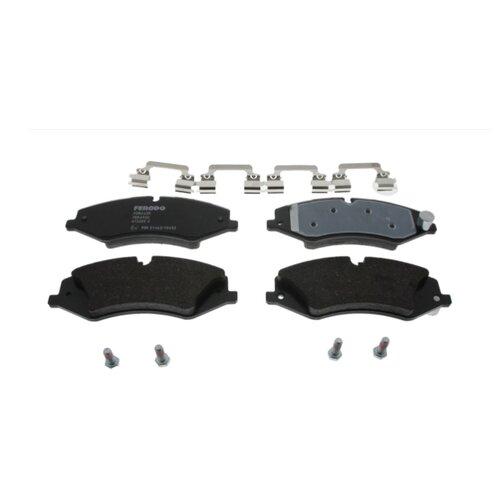 Дисковые тормозные колодки передние Ferodo FDB4455 для Land Rover Discovery, Land Rover Range Rover Sport, Land Rover Range Rover (4 шт.)