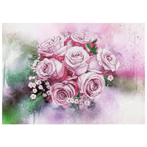 Купить NOVA SLOBODА Набор для вышивания Мелодия любви 39 х 28 см (СВ2234), Наборы для вышивания