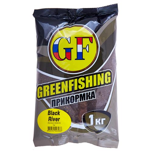 Прикормочная смесь GF Black River сладкий 1000 г