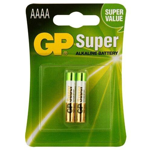 Батарейка GP Super Alkaline АААA 2 шт блистер блинница lumme lu 3650 черный жемчуг lu 3650 черный жемчуг