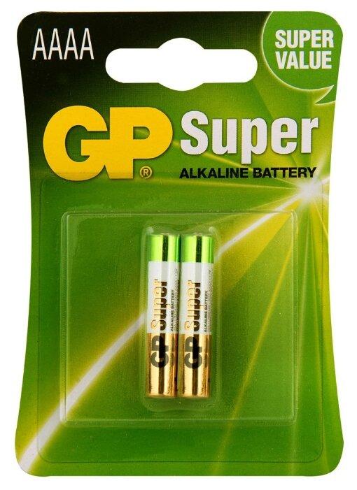 Батарейка GP Super Alkaline АААA — купить по выгодной цене на Яндекс.Маркете