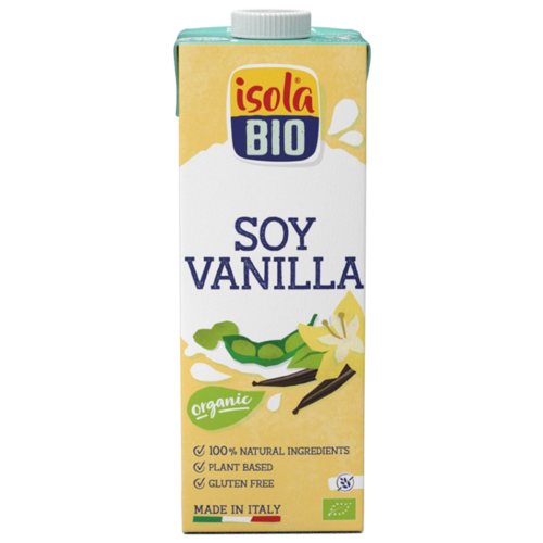Соевый напиток Isola Bio Soya Vanilla без глютена 1 л