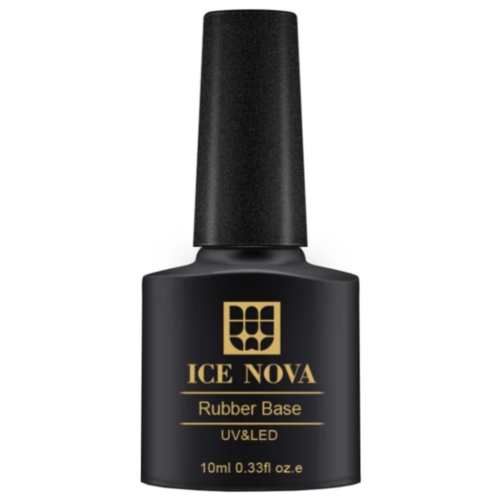 ICE NOVA базовое покрытие Rubber Base 10 мл 07 ice nova базовое покрытие base coat 10 мл прозрачный