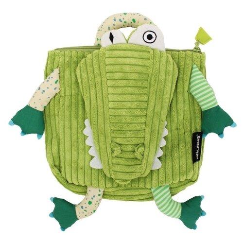 deglingos deglingos лисичка kitschos original Deglingos рюкзак Aligatos The Alligator (35024), зеленый