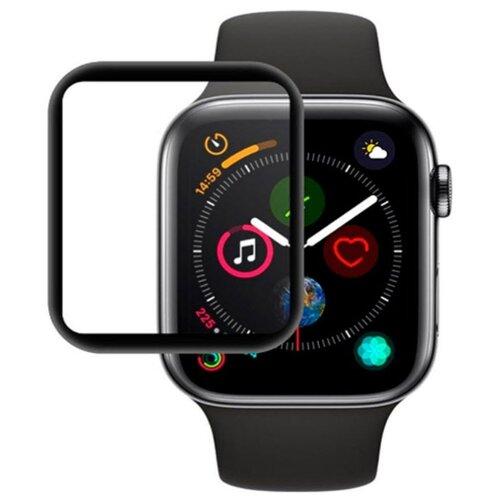 Защитное стекло Red Line для Apple Watch S4 40 мм Full screen (3D) с рамкой черный