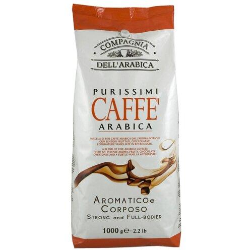 Кофе в зернах Compagnia Dell` Arabica Kenya AA Washed, арабика, 1 кг кофе в зернах italcaffe espresso 100% arabica 1 кг