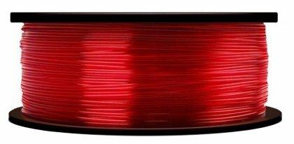 PLA пруток MakerBot 1.75 мм полупрозрачный красный