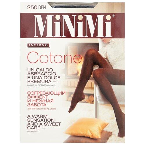 Колготки MiNiMi Cotone 250 den, размер 2-S/M, nero (черный) колготки minimi cotone 250 den размер 2 s m nero черный