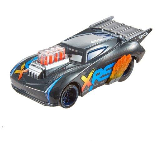 Купить Легковой автомобиль Mattel Cars Джексон Шторм (FFV33/GFV36) 1:55 серый, Машинки и техника