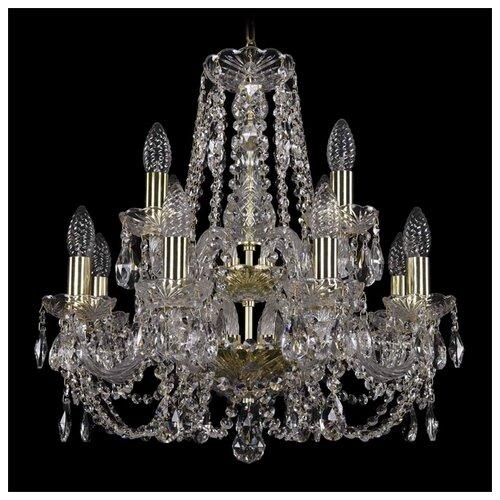 Люстра Bohemia Ivele Crystal 1406/8+4/160/2d/G, E14, 320 Вт bohemia ivele crystal 1406 16 8 4 400 160 2d g