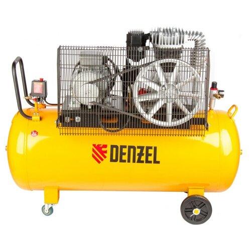 Компрессор масляный Denzel DR 4000/200, 200 л, 4 кВт