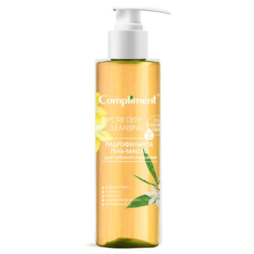 Купить Compliment гидрофильное гель-масло для глубокого очищения лица, 150 мл