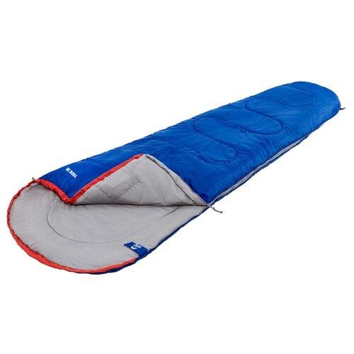 Спальный мешок Jungle Camp Trek JR синий с левой стороны