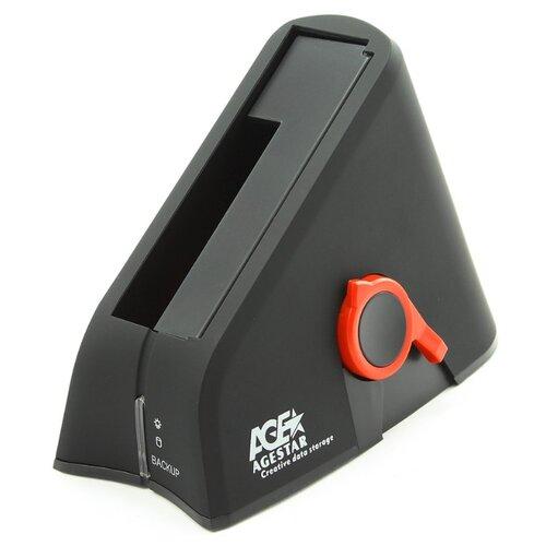 Док-станция для HDD/SSD AGESTAR 3UBT-6G черный