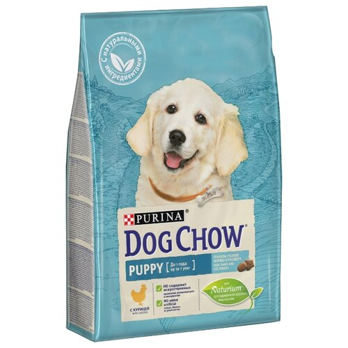 Сухой корм для щенков DOG CHOW курица 2.5 кг dog chow dry food for puppies up to 1 year old with chicken 14 kg