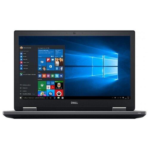 Купить Ноутбук DELL Precision 7540 (Intel Core i7 9850H 2600MHz/15.6 /1920x1080/16GB/512GB SSD/DVD нет/NVIDIA Quadro T2000 4GB/Wi-Fi/Bluetooth/Windows 10 Pro) 7540-5239 черный